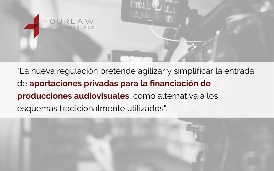 Financiación de producciones audiovisuales: cuatro novedades en los Presupuestos para 2021